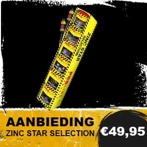 Vuurwerk Zinc Star Selection